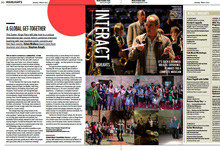 King's Place magazine feature: GMF Easter Jazz Workshop and Music Festival London 2012